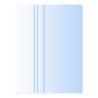 Pale Blue Simple Elegant Design. Postcard
