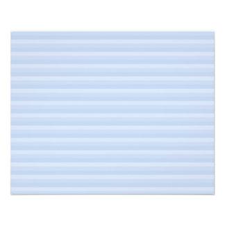 Pale Blue Stripes. 11.5 Cm X 14 Cm Flyer