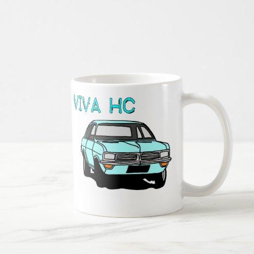 Pale Blue Viva Coffee Mugs