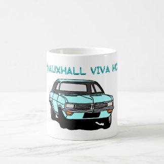 Pale Blue Viva Coffee Mug