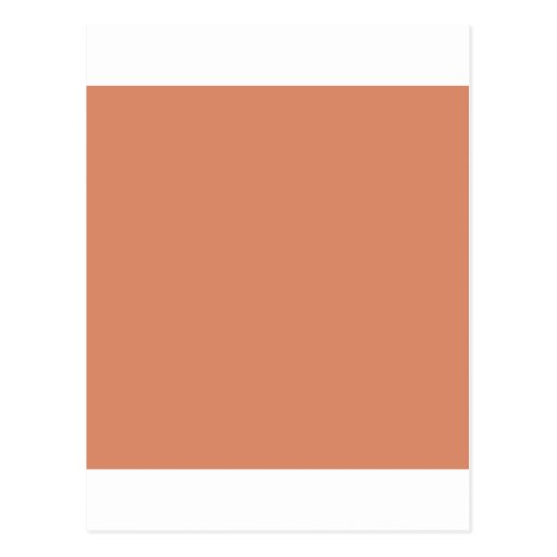 Pale Copper Post Card