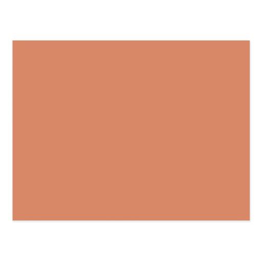Pale Copper Post Cards