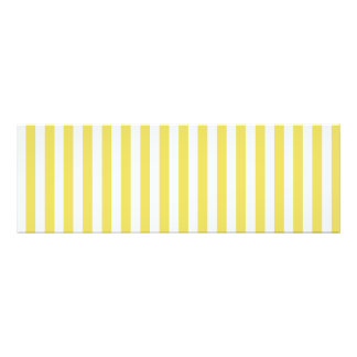 Pale Gold And White Stripes Photographic Print