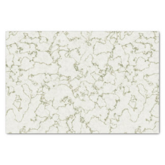 Pale Green Marble Tissue Paper