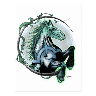 Pale Horse Postcard