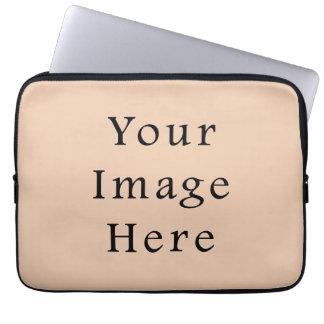 Pale Linen Beige Color Trend Blank Template Laptop Sleeves