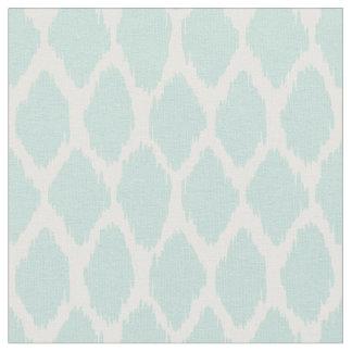 Pale Mint Green Ogee Pattern Fabric