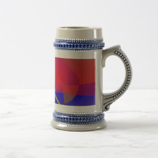 Pale Orange and Blue Contrast Mugs
