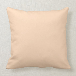 Pale Peach Angelskin Coral Pastel in Summer Gazebo Throw Pillow