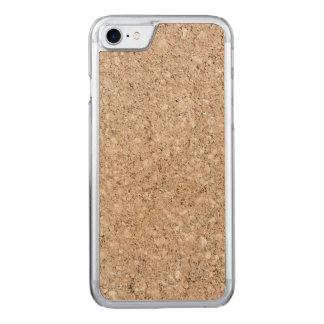 Pale Peachy Beige Cement Sidewalk Carved iPhone 7 Case