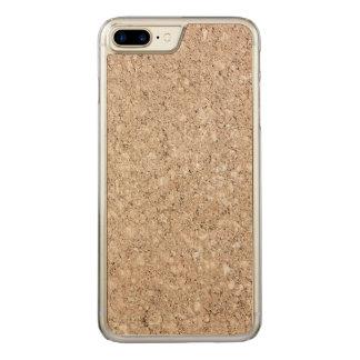Pale Peachy Beige Cement Sidewalk Carved iPhone 7 Plus Case