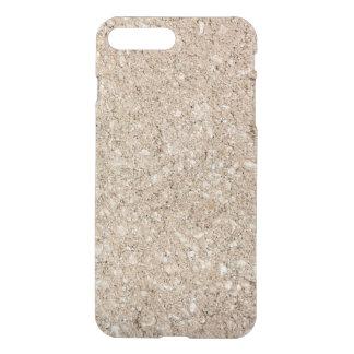 Pale Peachy Beige Cement Sidewalk iPhone 7 Plus Case