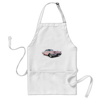 Pale Pink Cadillac Standard Apron