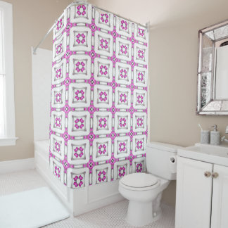 Pale Pink Delight Shower Curtain