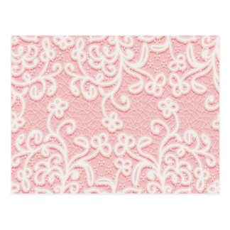 Pale pink lace,white,vintage,victorian,girly,cute, postcard