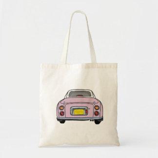 Pale Pink Nissan Figaro Tote Bag