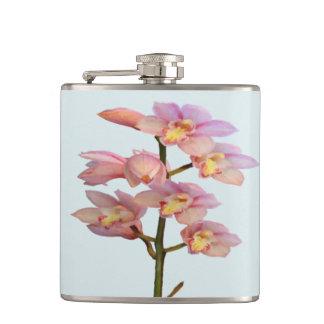 Pale Pink Orchids Flasks