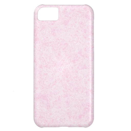 Pale Pink Random Background Pattern. Cover For iPhone 5C