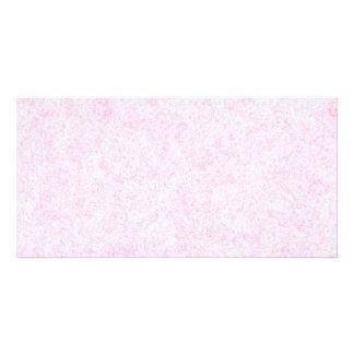 Pale Pink Random Background Pattern. Custom Photo Card