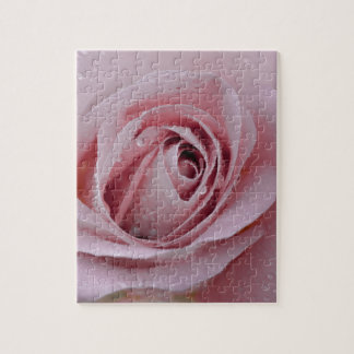pale pink rose jigsaw puzzle