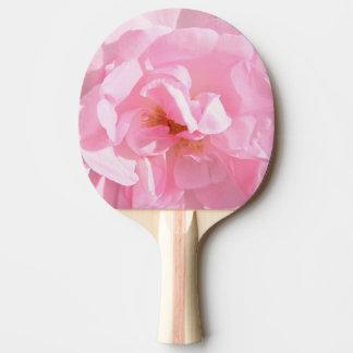 pale pink rose petals ping pong paddle