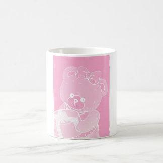 Pale Pink Teddy Bear for Girls Coffee Mug