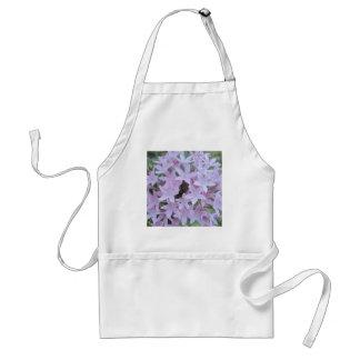 Pale Purple Flowers Aprons