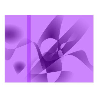 Pale Purple Postcard