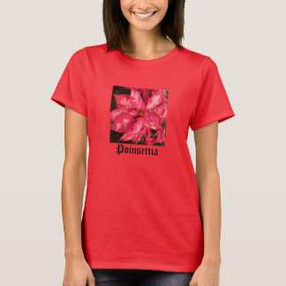 Pale Red Poinsettia T-Shirt