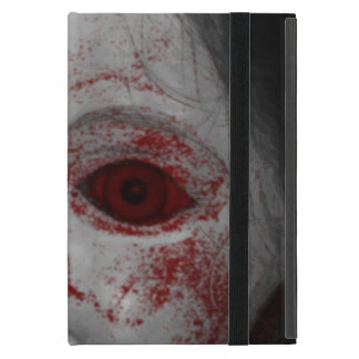 Pale Skin Doll With Blood Red Eyes iPad Mini Covers