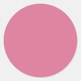 Pale Violet Red Round Sticker
