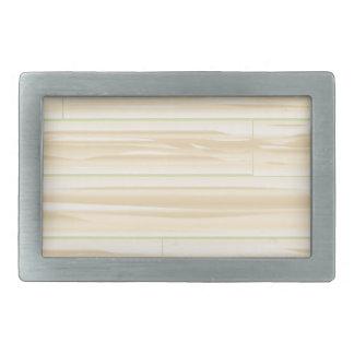 Pale Wood Background Belt Buckles