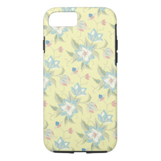 Pale Yellow Floral iPhone 7 Case