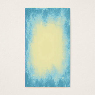 Pale yellow with blue vignette abstract texture business card