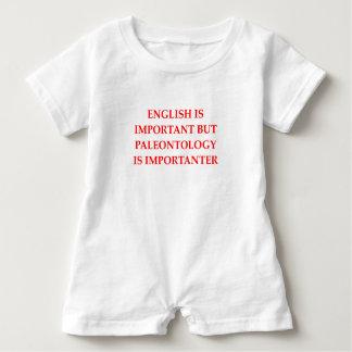 palenotology baby bodysuit