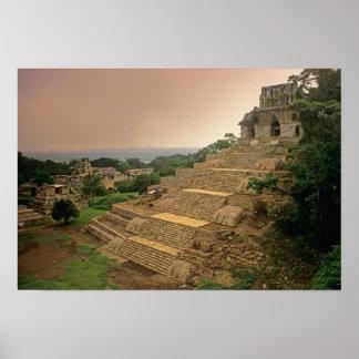 Palenque, Chiapas, Mexico, Maya Poster