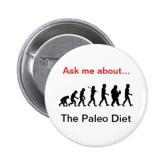 Paleo Products 6 Cm Round Badge
