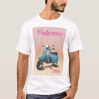 Palermo Italy Scooter poster T-Shirt