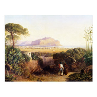 Palermo, Sicily, 1847 (oil on canvas) Postcard