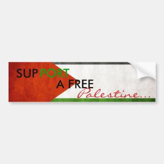Palestine Bumper sticker Car Bumper Sticker
