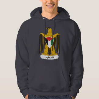 Palestine Coat of Arms Hooded Sweatshirt