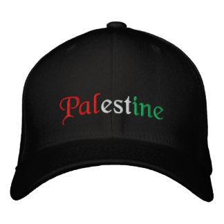 Palestine Embroidered Hat