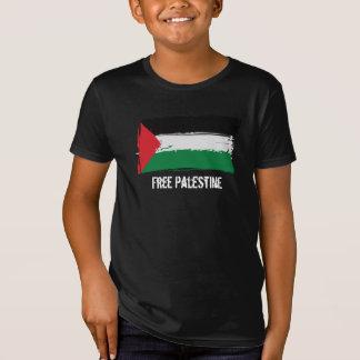 Palestine Flag Brush Art - Free Palestine Tshirts