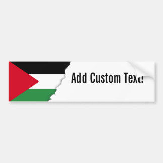 Palestine Flag Bumper Sticker
