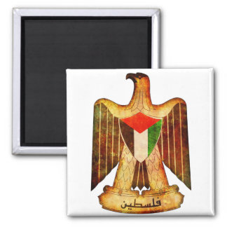 Palestine Flag Eagle Fridge Magnet Souvenir