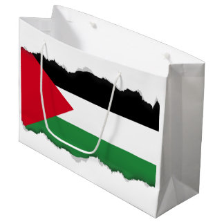 Palestine Flag Large Gift Bag