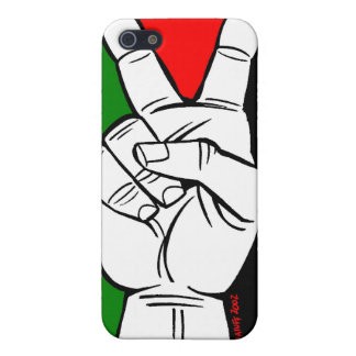 PALESTINE FLAG PEACE SIGN iPhone 5/5S COVER