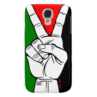 PALESTINE FLAG PEACE SIGN SAMSUNG GALAXY S4 CASES