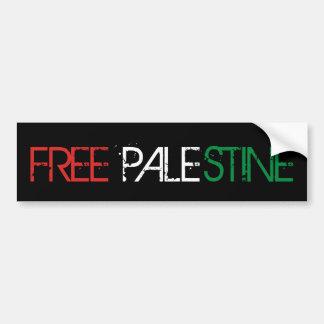 Palestine Freedom Bumper Sticker