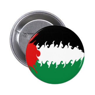 Palestine Gnarly Flag Pinback Button